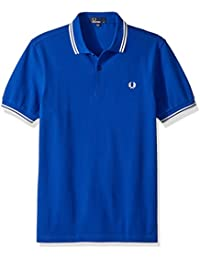 Fred Perry Twin Tipped Shirt, Polo para Hombre