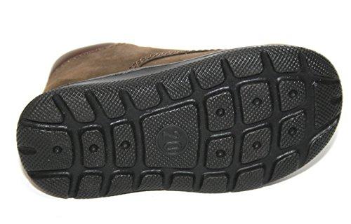 Jela , Chaussures de ville à lacets pour garçon bleu Atlantic-Sand Marron