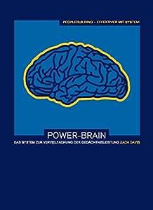 Power-Brain: Das System zur Vervielfachung der Gedächtnisleistung: Zahlen, Daten, Fakten und Namen merken leicht gemacht. Video auf CD-ROM