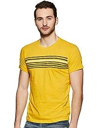 Pepe Jeans Men's Striped Slim fit T-Shirt