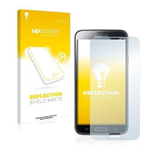 upscreen Matt Schutzfolie für Samsung Galaxy S5 SM-G900I SM-G900F - Entspiegelt, Anti-Reflex, Anti-Fingerprint (Screen S5-fingerprint Protector)