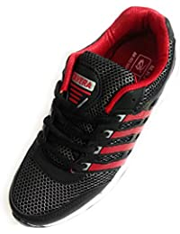 Shri Balaji Footwear Sports Shoes For Trendy Boys Red & Black Colour Size 8