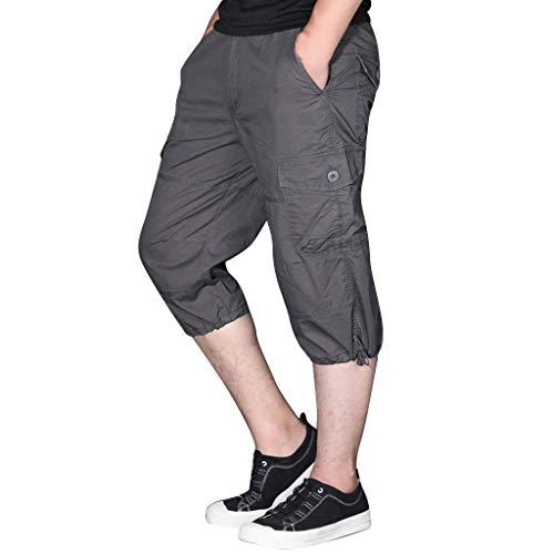 Herren Kurze Hose Shorts Jogginghose Sommerhosen,Herren Sommer Mode Draussen Sport Multi-Pocket Arbeitshosen Cargo Shorts Bermuda Kurze Hose Chino Training Jogging Hose - Low-rise-gestreifte Shorts