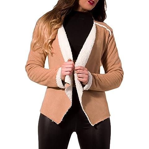 Secondo le donne s New, eleganti, a manica lunga, morbida,