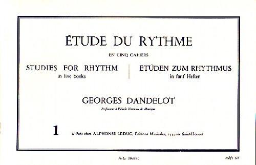 Etude Du Rythme Vol.1 Dandelot