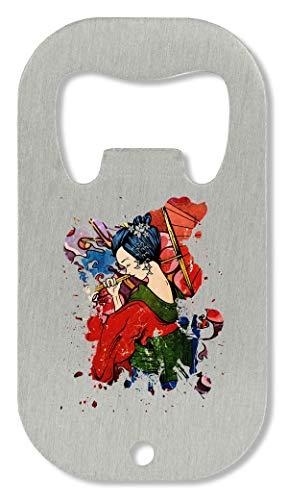 xx Geisha Japan Culture Flaschenöffner - Kimono Wand