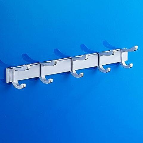 Alluminio gancio accappatoio gancio Servizi igienici bagno