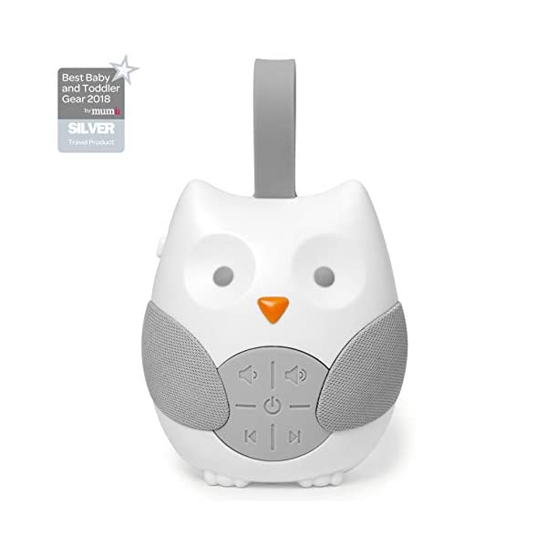 Skip Hop Stroll and Go Portable Baby Soother, Owl 1