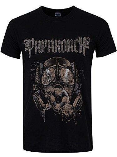 plastic-head-mens-papa-roach-face-mask-banded-collar-short-sleeve-t-shirt-black-large