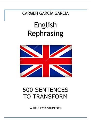 English Rephrasing (English Edition) eBook: Carmen Garrcía García ...
