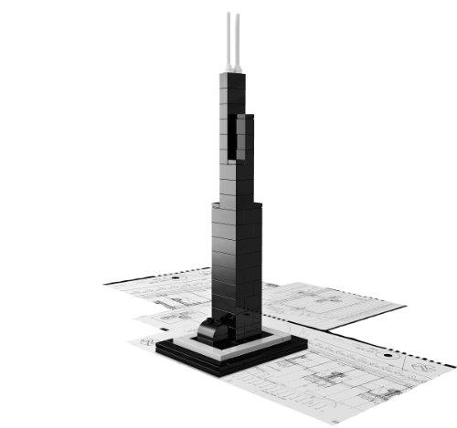 Imagen 3 de LEGO Architecture 21000 Torre Willis (Chicago)