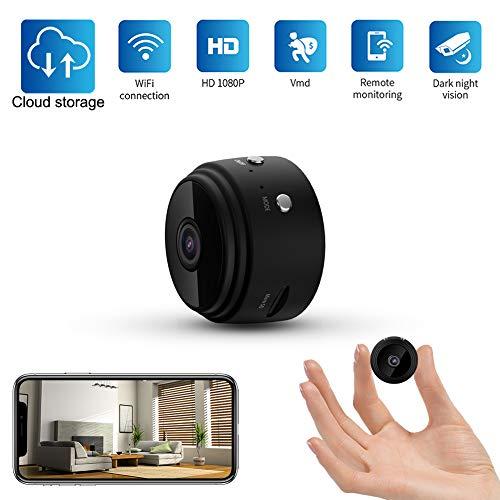 Kimfly Mini Kamera mit HD 1080P   Überwachungskamera WiFi Home Security Überwachung Kleine Tragbare Drahtlose Kamera für Kinder   Wireless Kamera Nachtsicht, Bewegungserkennung
