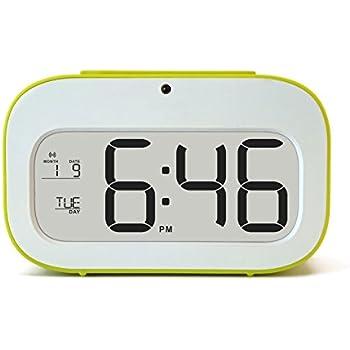 junjiada Digital Alarm Clock With Timer?Low Light Sensor TechnologyLight On Backligt When  sc 1 st  Amazon UK & junjiada Digital Alarm Clock With Timer?Low Light Sensor ... azcodes.com