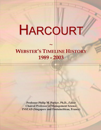 harcourt-websters-timeline-history-1989-2003