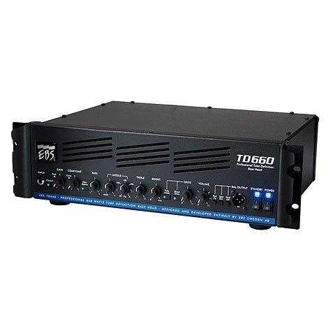 EBS EBSTD660 Heads (660 Watt RMS, Tube-Drive, 3 HE)
