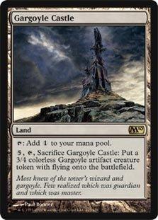 Magic the Gathering - Gargoyle Castle - Castello del Gargoyle - Magic 2010 Core Set - Gargoyle Castle