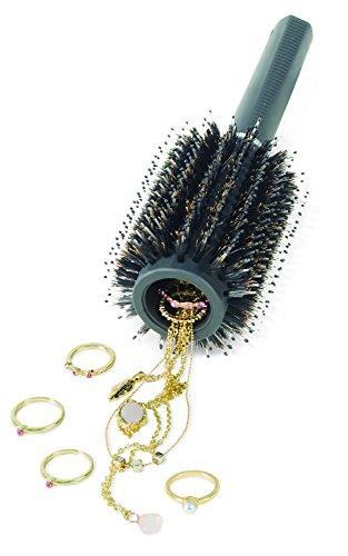 UPP Haarbürste mit Geheimfach - 23x8cm - Wertsachen wie Schmuck, Geld, Schlüssel sicher und unscheinbar verstecken - ECHTE qualitativ hochwertige HAARBÜRSTE!