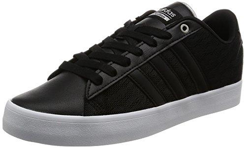 adidas Cloudfoam Daily Qt Lx W, Sneaker a Collo Basso Donna Nero (Negbas/Negbas/Plamet)