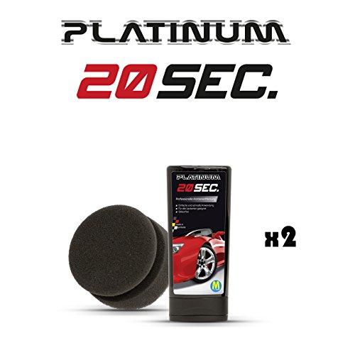 Preisvergleich Produktbild Platinum 20Sec Kratzerentferner, 2 Stück