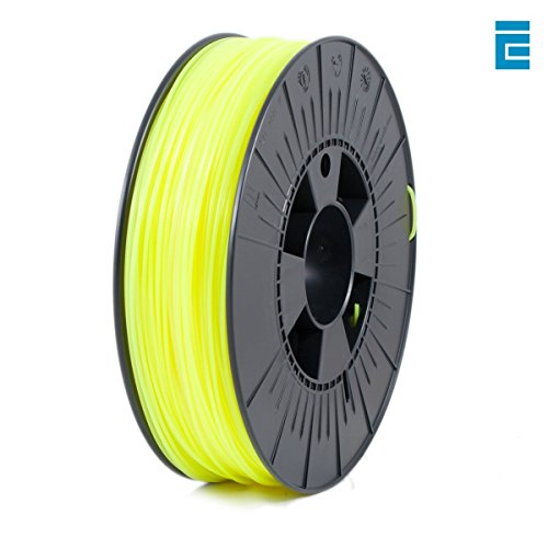 ICE Filaments ICEFIL1PLA037 PLA filament, 1.75mm, 0.75 kg, Fluo Young Yellow