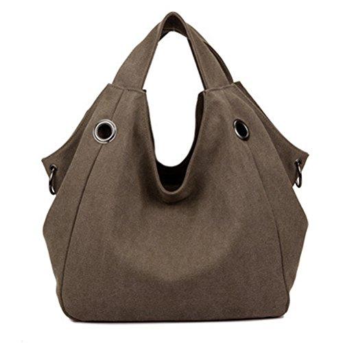 Casual Canvas Zipper Single Adjustable Strap Shoulder Bags Messenger Crossbody Handbags E