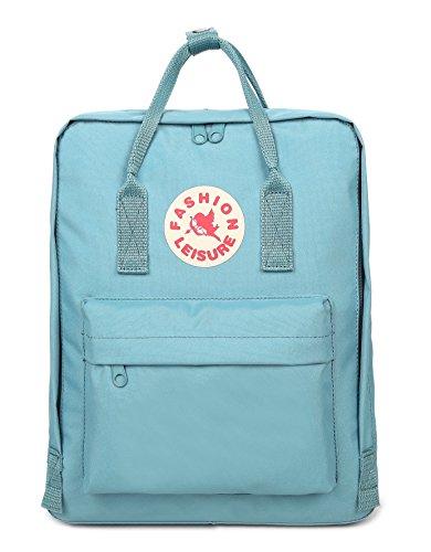 Tibes Zaino Della Scuola Borsa Zaino Backpack Laptop Schoolbag Zaino Per Scuola Zaino Per Pc Cielo blu