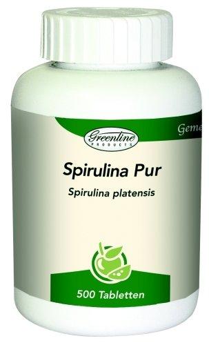 Spirulina Pur - 500 Presslinge a 500mg/Tablette