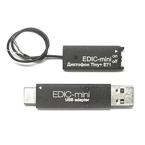 Grabadora De Voz Espía Profesional Edic Mini Tiny 16 E71 | Con Micrófono y Detección De Sonido