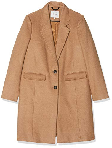 Pepe Jeans Rory Chaqueta, Camel 855, Large para Mujer