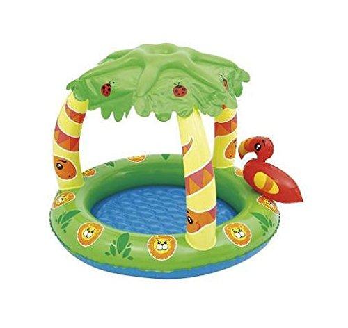 C&C Kinder Baby Pool Schwimmbad 99x 91x 71Dschungel aufblasbar bes087