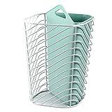 BTPCC Cestello per rifiuti con separatore per asciugare e immergere, Contenitore dell'immondizia per Bagno, Camera da Letto, Cucina, Sala Artigianale (Color : B)
