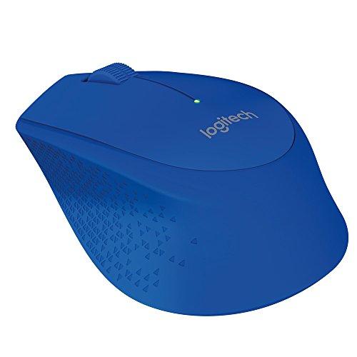 Logitech M280 schnurlose Maus, blau (Schnurlose Maus Logitech Blau)