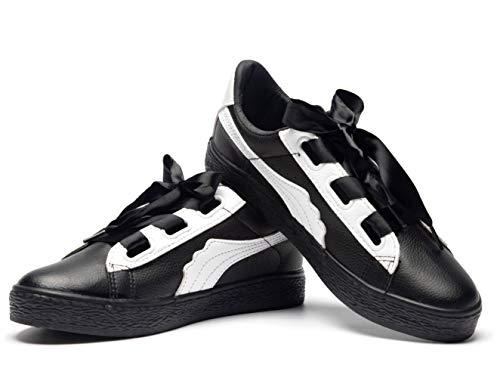 0c1b470a Hotroad Zapatillas en Cuir PU Platform para Mujer Zapatos de Moda Casual  Shoes Lace up Bajas