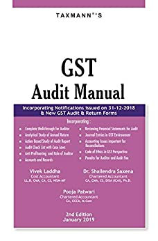 GST Audit Manual (2nd Edition January 2019) PDF Descargar