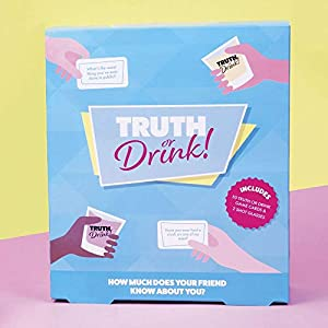 Fizz Creations 1604 Truth or Drink Game, Juego de Mesa