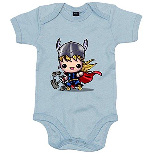 Body bebé Chibi Kawaii Thor comic parodia - Celeste, 6-12 meses