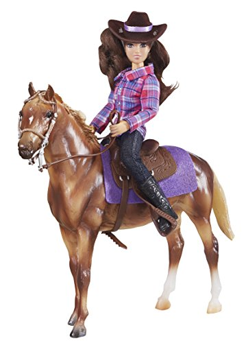 Breyer 90.61116Classic Western Pferd und Reiter