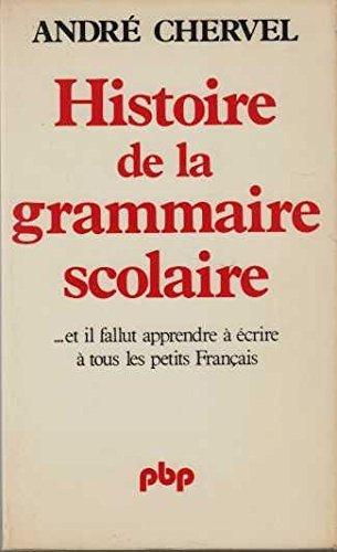 Histoire de la grammaire scolaire