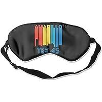Retro 1970's Style Amarillo Texas Skyline 99% Eyeshade Blinders Sleeping Eye Patch Eye Mask Blindfold For Travel... preisvergleich bei billige-tabletten.eu