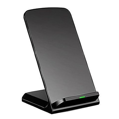 Chargeur Sans Fil, Pictek Chargeur à induction, Charge Station d accueil pour NOTE5 / S6 / S6Edge / S6 Nokia Lumia 920 / 1020 / 928 / 1520 Motorola Moto 360 Smart Watch / Moto Droid Maxx / Droid Mini Google Nexus 4 / 5 / 6/ 7(2013) LG Optimus Vu2 / G2 / G3 et d'autres smartphones