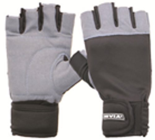 Nivia Gym Gloves With Wrist Large  available at amazon for Rs.515