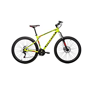 "Moma Bikes Bicicleta Montaña PLUS 27,5"",Alu, SHIMANO 21V. Doble Freno Disco, Susp. Delant. (Varias Tallas)"