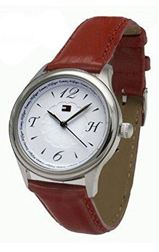 Tooltech 1780994–Armbanduhr, Lederband rot