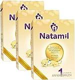 Natamil 1 Anfangsmilch, von Geburt an, 3er Pack (3 x 800 g)