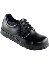 Euro-dan de centro de zapatillas en negro O2 + SRA, color negro, talla 39