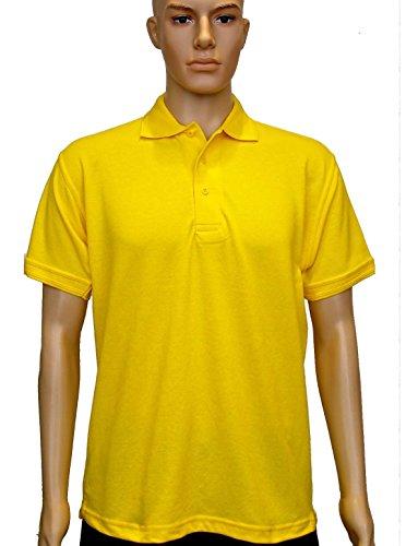 Uneek clothing -  Polo  - Polo - Polo  - Maniche corte - Uomo Giallo
