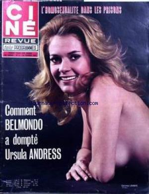 Cine Tele Revue 1972 - CINE TELE REVUE [No 6] du