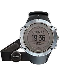 Suunto, Ambit3 HR, Unisex Multisport-/Outdoor GPS-Uhr, Herzfrequenzmesser + Brustgurt