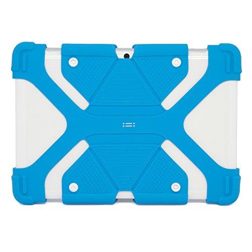 Aiino AIUN8912CV3-DYBL Custodia Universale in Silicone per Tablet da 8.9 a 12', Blu