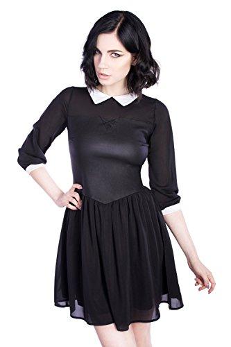 Disturbia Clothing -  Vestito  - Basic - Donna nero X-Large